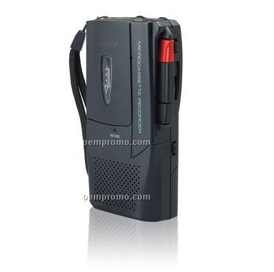 Vas Micro Cassette Recorder, One Micro Cassette Tape Included