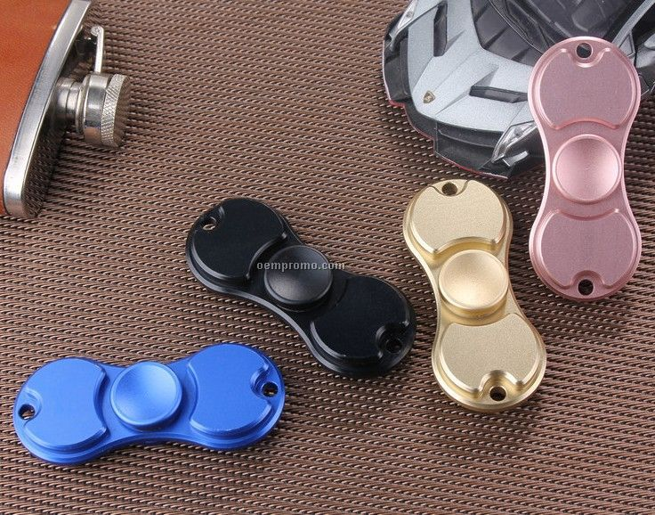 Wholesale Fashionable Aluminium Alloy Fidget Spinner Toy