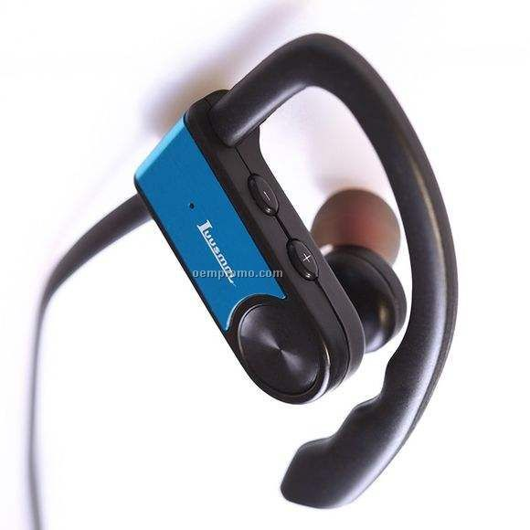 Waterproof sports bluetooth headphone, stereo collar bluetooth headset