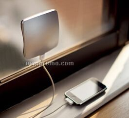Window Cling Solar Charger for Smartphones, MP3 Players