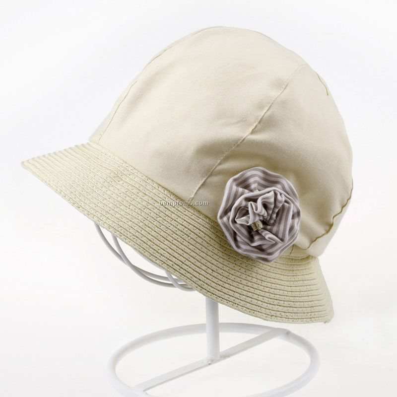 Woman`s lightweight rain hat