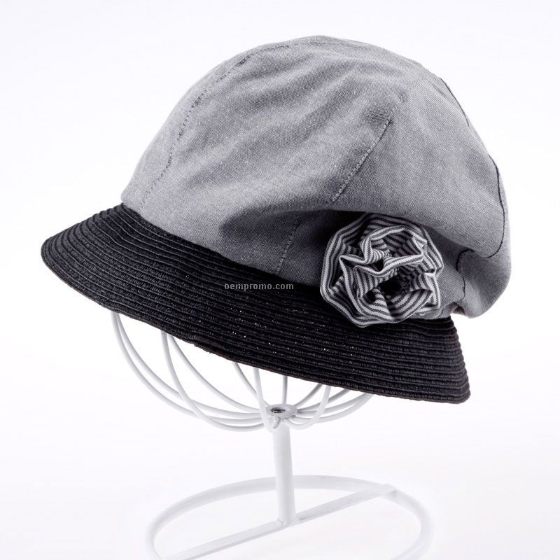Woman`s spring summer fashion bucket