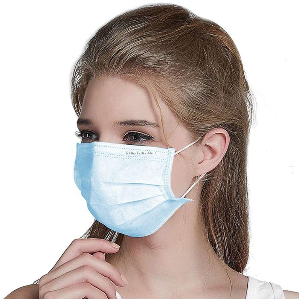 disposable face mask 3ply non-woven face mask gauze face medical mask